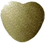 Gold Heart Board 6mm Thick Wooden Board