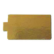 55x95mm Gold Rectangle Tab BC