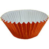 Orange #550 Metallic Cake Cups
