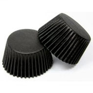 #700 Black Cake Cup Papers