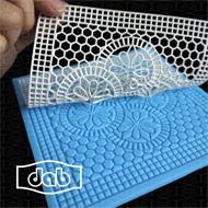 Lace Silicone Mould #22