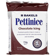 Bakels Chocolate Brown Icing 750gr