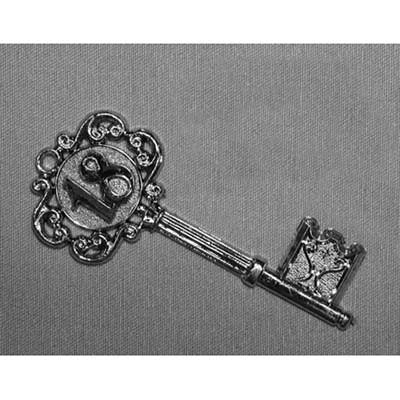 Silver 18th. Key Fancy