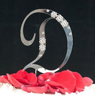 D Diamante Monogram Letter