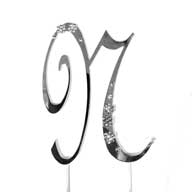 N Diamante Monogram Letter