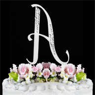 A Diamante Monogram Letter