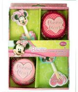 Cupcake Decorating Kit - Minnie Mouse