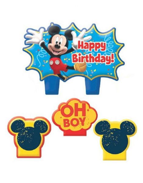 Candle Set Mickey Mouse