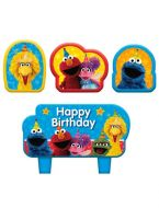 Candle Set Sesame Street