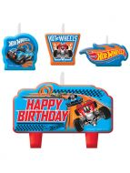 Candle Set Hot Wheels Wild Racer