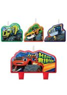 Blaze Happy Birthday Candle Set
