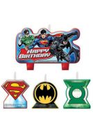 Candle Set - Justice League