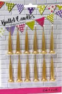 Gold Bullet Candles