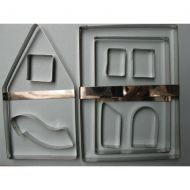 Gingerbread House Cutter Large