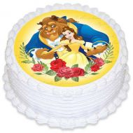 Beauty & The Beast Edible Image
