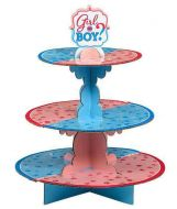 Girl or Boy Gender Reveal Treat Stand