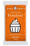 Sunrise Orange Cake Craft Fondant
