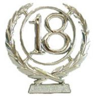 #18 Silver Wreath Number