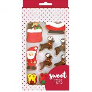 Christmas Assorted Sugar Decorations