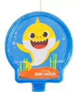 Baby Shark Birthday Candle