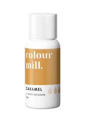 Caramel Colour Mill Oil Colour