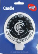 Carlton Blues Afl Candle