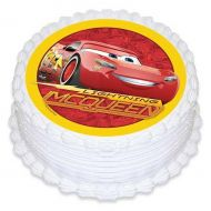 Cars 3 Round Edible Image