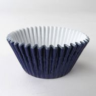 Navy Metallic #550 Cake Cups