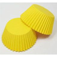 #390 Bright Yellow Cupcake Papers