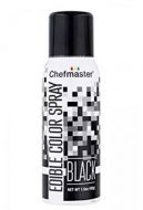 Black Chefmaster Edible Spray