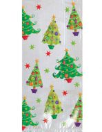 Christmas Trees Large Cello Bags