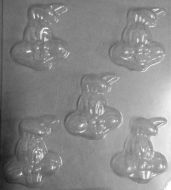 Rabbit Face Easter Choc Mould