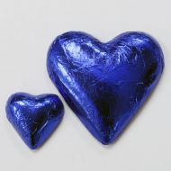 Blue Chocolate Foil