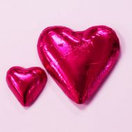Hot Pink Choclate Foil