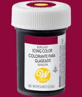 Burgundy Wilton Paste Colour