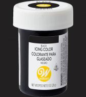 Black Wilton Icing Paste Colour