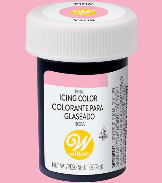 Pink Wilton Icing Paste Colour