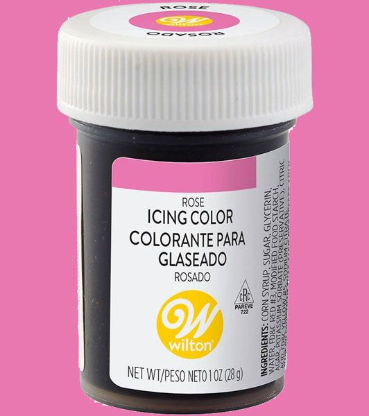 Rose Wilton Icing Paste Colour