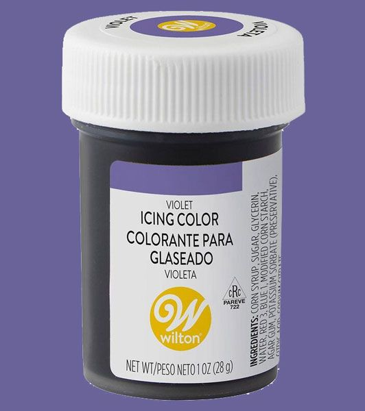 Violet Wilton Icing Paste Colour