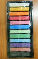 Chalk Pastels 12 Ass.Col