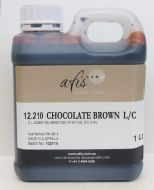 Chocolate Brown Liquid Colour