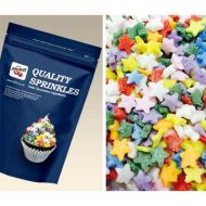 Rainbow Stars Sugar Shapes