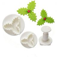 Triple Leaf Holly Cutters