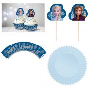 Frozen 2 Glittered Cupcake Kit