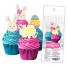 Easter Wafer Cupcake Topper