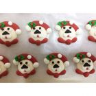 Christmas Pooch Sugar Decorations