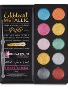 Metallic 10 Palette Multi Colours