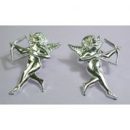 Silver Cupid No Back Pin