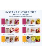 Russian Flower Piping Tip Set 2