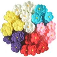 Pkt25 Assorted Small Sugar Blossom